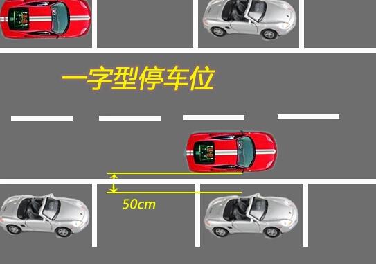 前面我们跟大家分享了车位划线如何设计及规划车位尺寸。我们已经知道,日常生活中,我们最常见的小型车辆停车位的尺寸是5.5*2.5m,标线宽度是15公分。那么,在车位设置时,除了考虑车位的尺寸,我们当然应该结合实际场地的面积,考虑如何进行车位排列能够使容积利用最大化,停车最方便。 通常的停车位排列方法主要有以下三种: 一、 非字型停车位,又称为垂直式停车位。该停车位采用后退式停;  二、 一字型停车位,又称为平行式停车位,该停车位采用前进停车的方式;  三、 斜列式停车位,可分为30、45、60斜列式停车